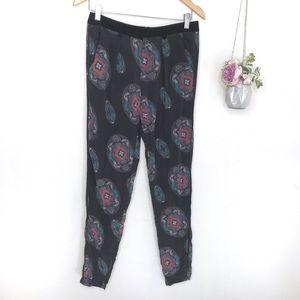 Nanette Lepore Silk Trouser Pyjama Pants Size 2